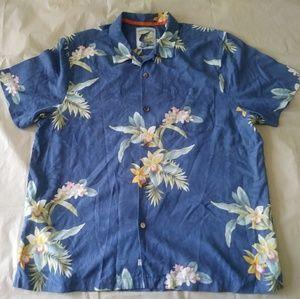 Tommy Bahama mens tropical shirt sz xl